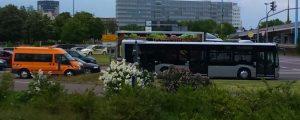 Am Mittwochnachmittag kamen die Busse an