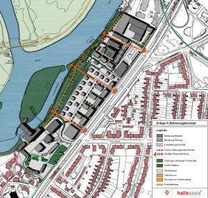 Der Entwurf des Bebauungsplan
