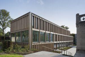 DEU, Halle, 08/2015, Mediathek Kunsthochschule Halle, Architekt: ZILA Architekten, Bildtechnik: Digital-KB