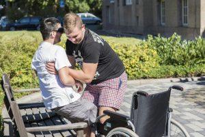 Azubitausch2016_KSB_PaulRiebeckStiftung_Rollstuhlfahrt