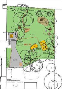 BurgKita Entwurfsplan Außenanlagen 30.05.16