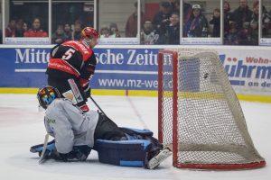 Saale Bulls - Icefighters Leipzig am 03.02.2017