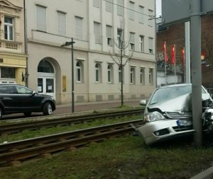 unfall franckestraße