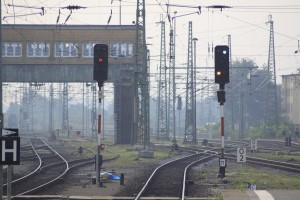 Bahnhof Stellwerk