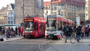 straßenbahn markt