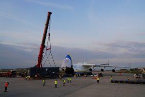 Beladung Loading AN 225 Leipzig Halle Airport 19 05 2016 U Schossig