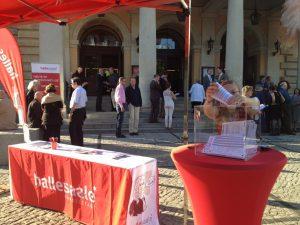 Besucherbefragung zu den Haendelfestspielen an der Oper (c) Stadtmarketing Halle (Saale) GmbH
