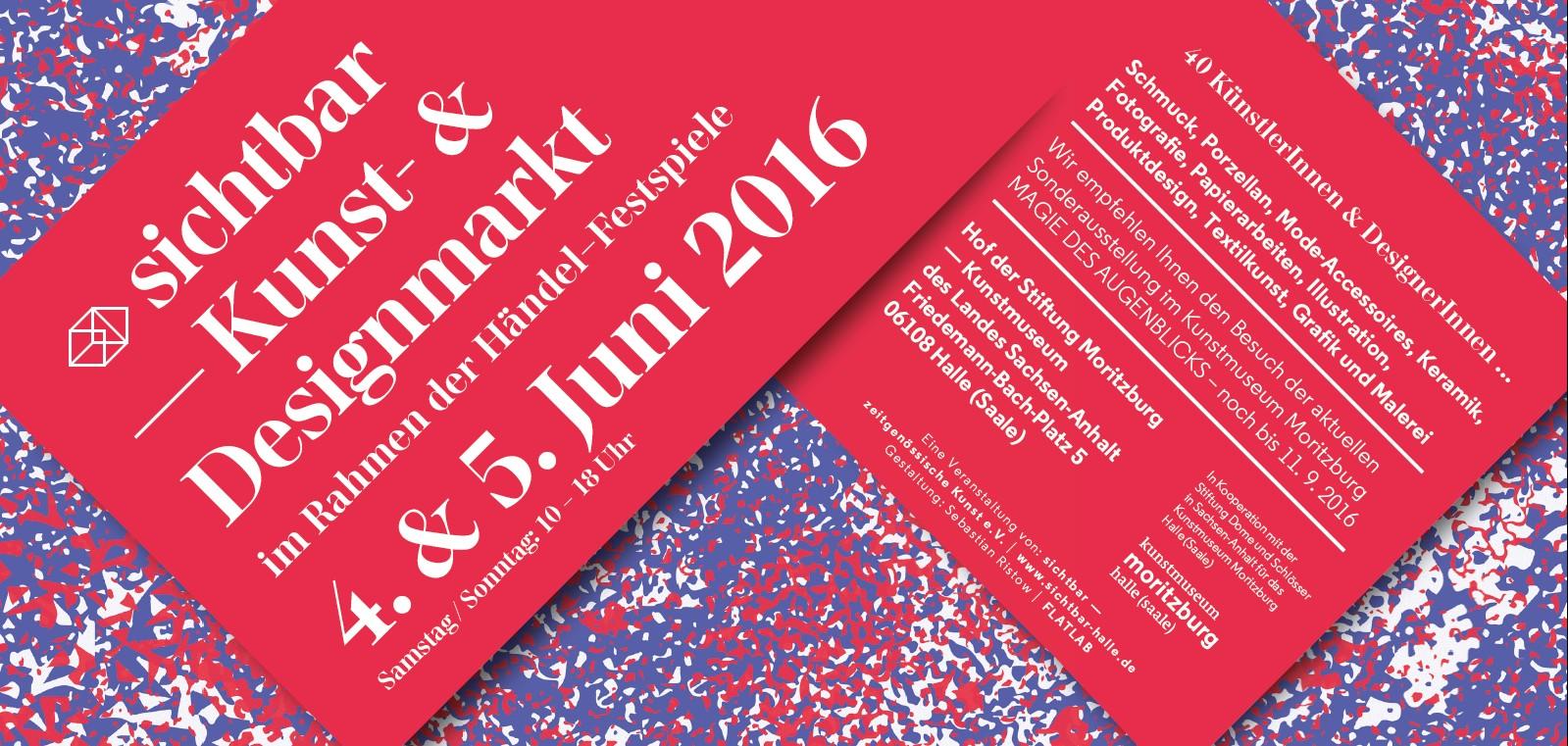 sichtbar - Kunst- & Designmarkt 2016