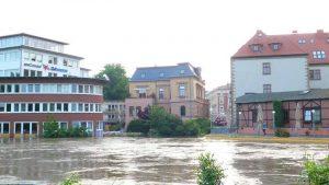 Hochwasser Halle