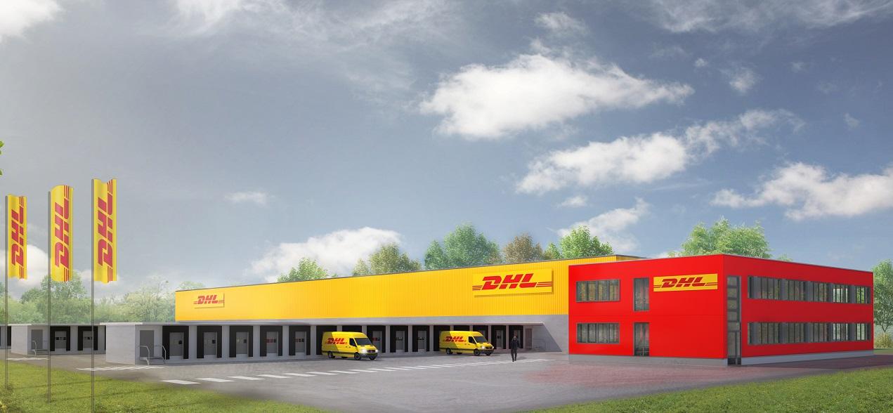 DHL Express Leipzig_Perspektive Neubau