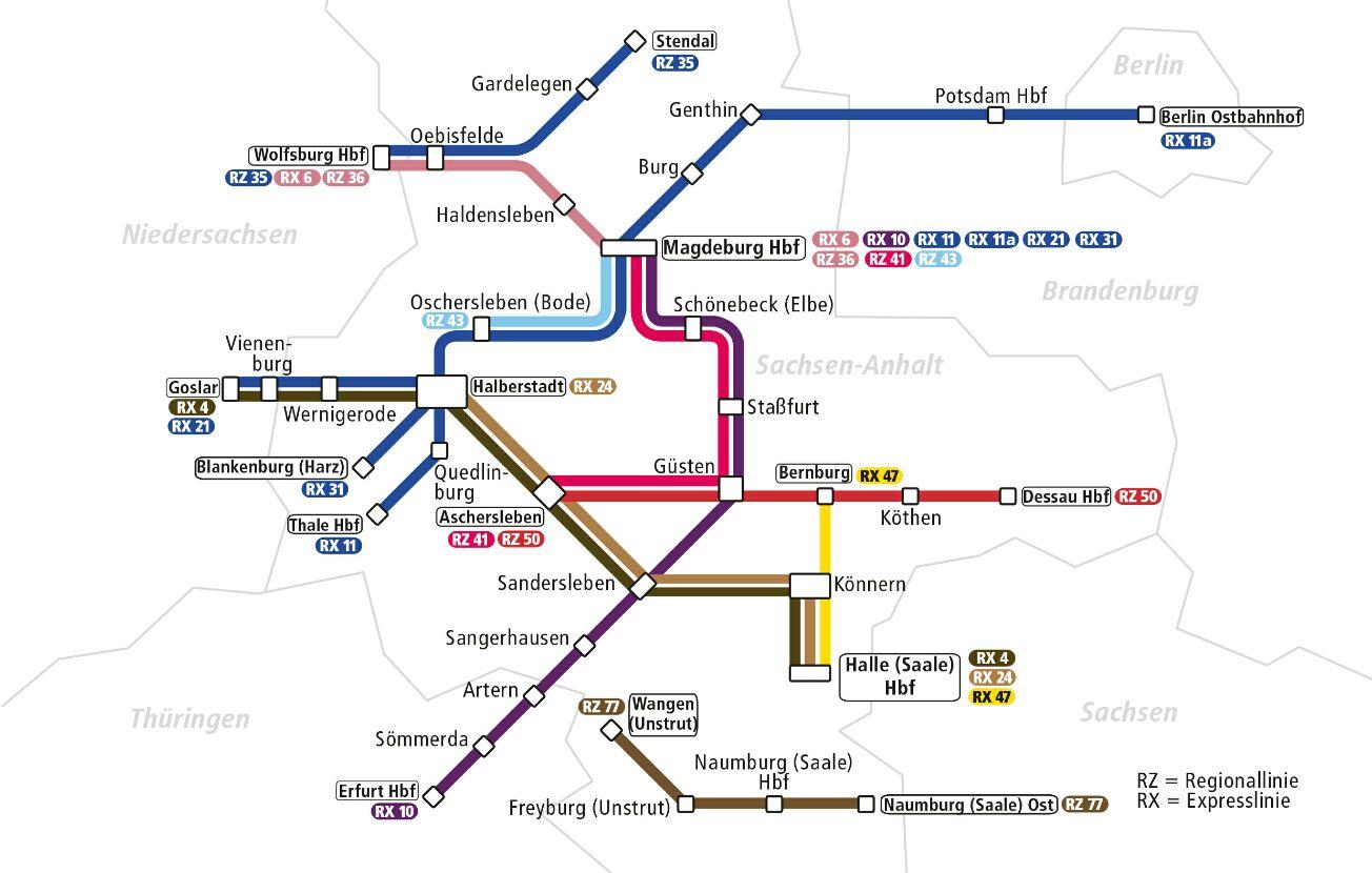 Netzplan DISA - Du bist Halle