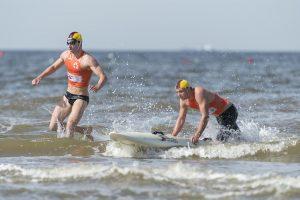 Josuha Perling, Daniel Roggenland, Board Rescue Race, Foto: Sascha Walther | DLRG
