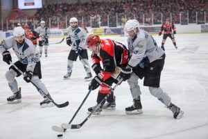 Saale Bulls - Icefighters Leipzig am 21.10.2016