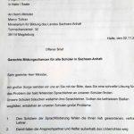 Schüler Aufstand Gegen Sprachlehrer Kündigung Offener Brief An