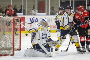 Saale Bulls - Tilburg Trappers am 20.01.2017