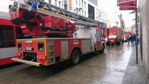Rolltreppe Feuerwehr