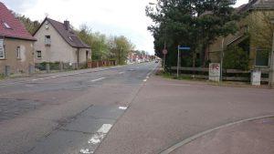 Salzmünder Straße Dölau