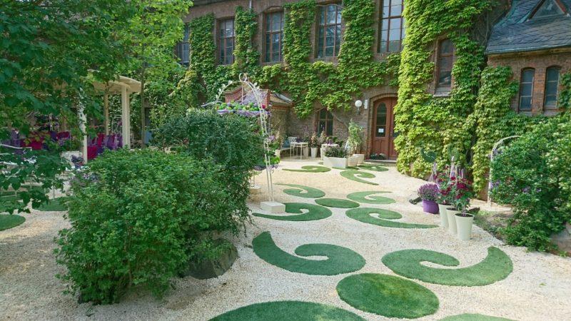 Hof Der Neuen Residenz Wird Zum Traumgarten Du Bist Halle