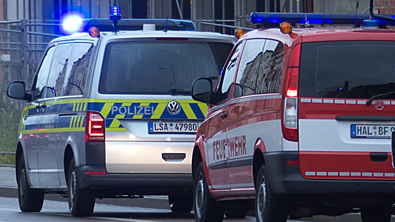 Feuerwehr und Polizei - Symbolbild
