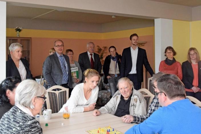 Wohngemeinschaft Für Demenzkranke In Der Silberhöhe Du Bist Halle