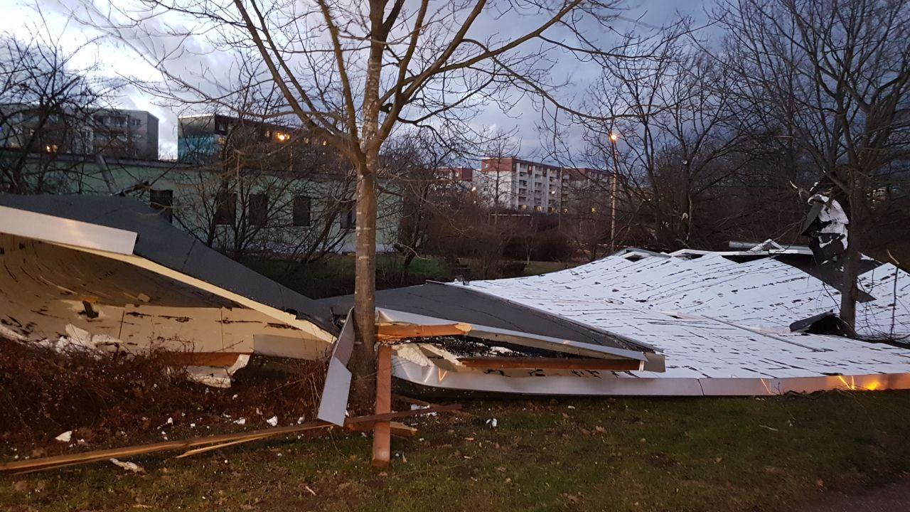 330 Sturm Einsätze In Halle 60 Baumschäden Du Bist Halle