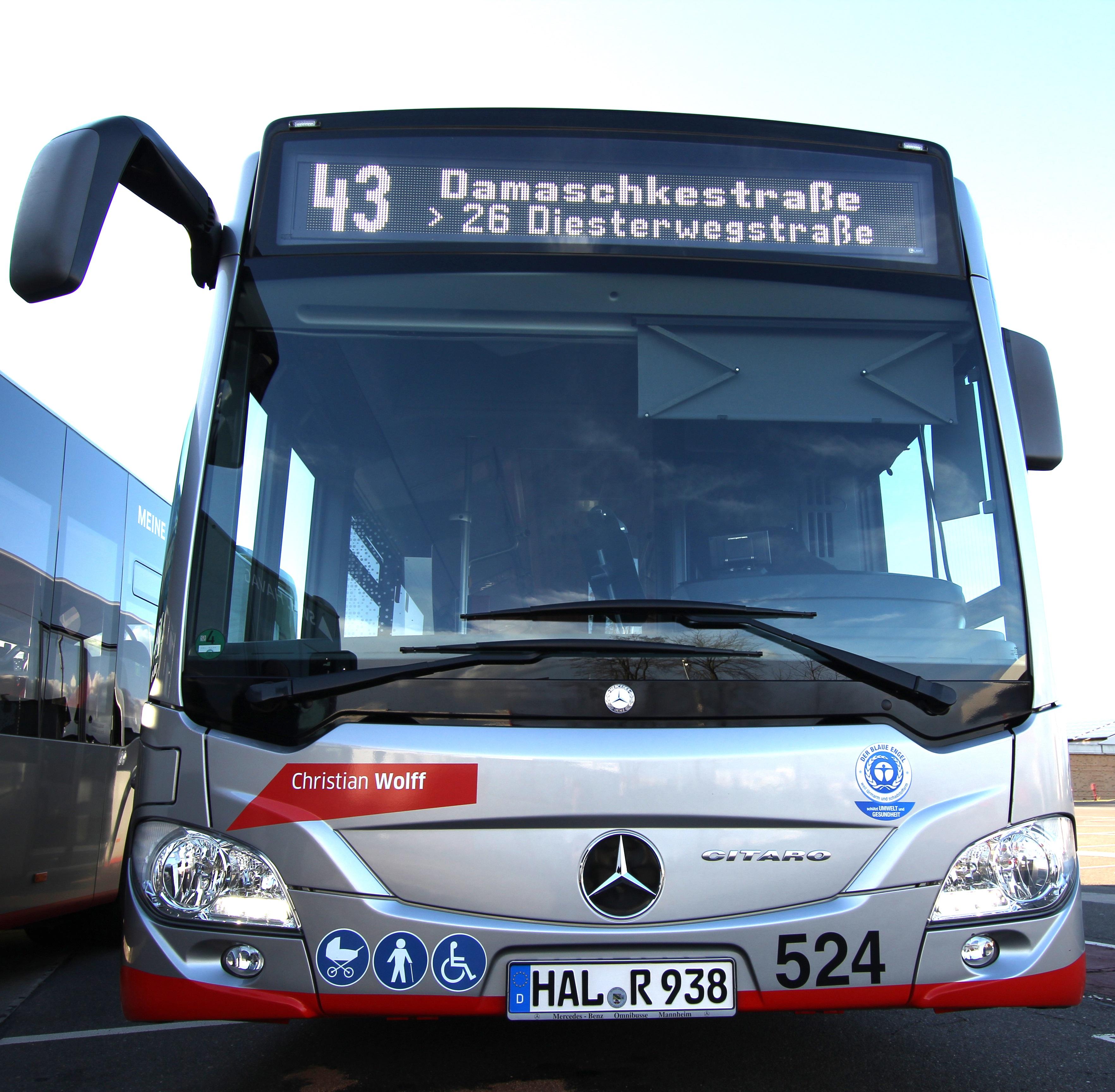 Havag Verbessert Linienanzeigen An Bussen Und Straßenbahnen Du