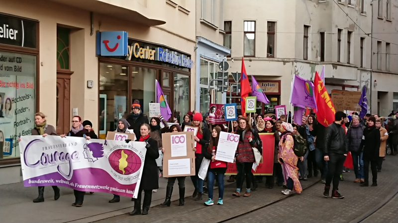 Demo Freitag Wien: Frauen-Kampf-Demo Am Freitag