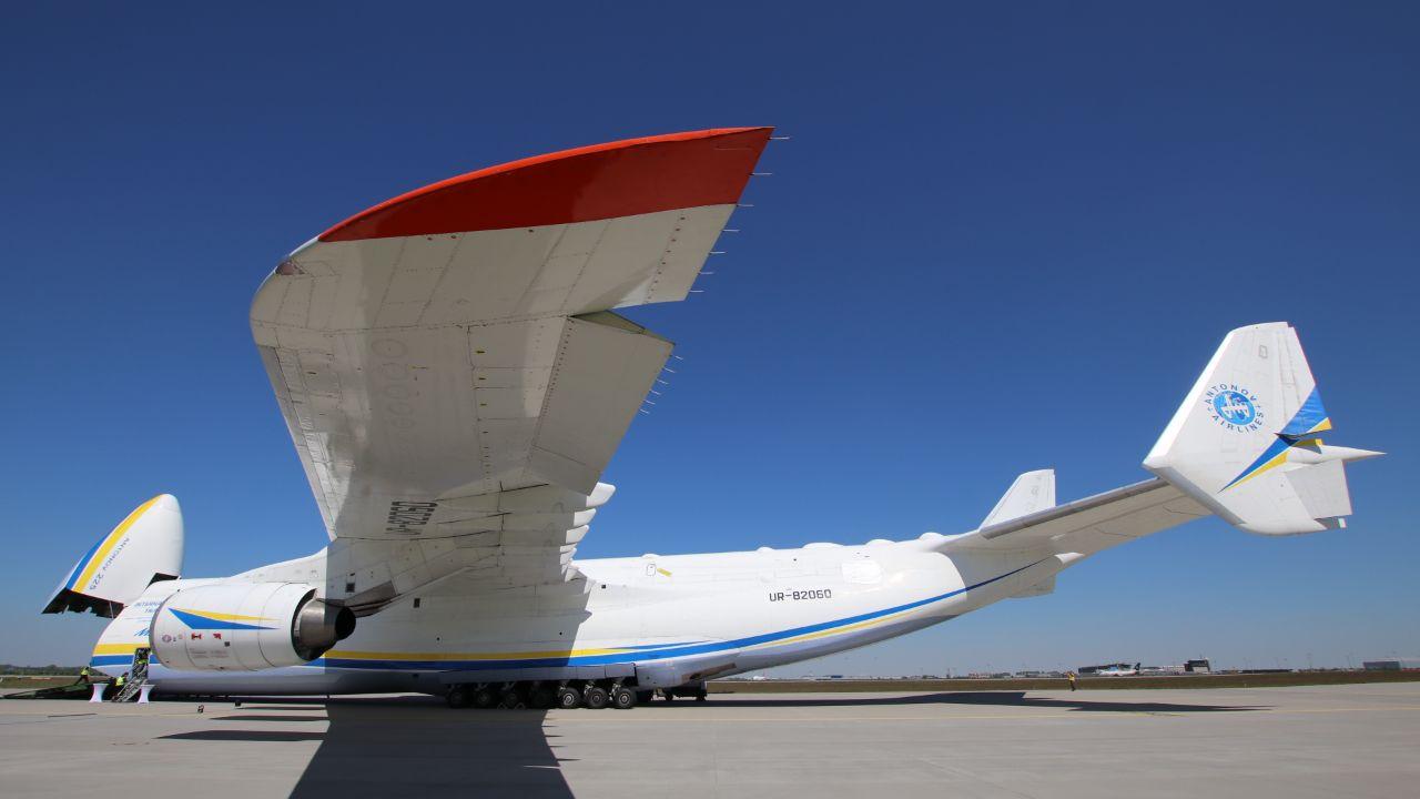 Antonov 225 Kommt Samstag Zum Flughafen Leipzig Halle Du Bist Halle