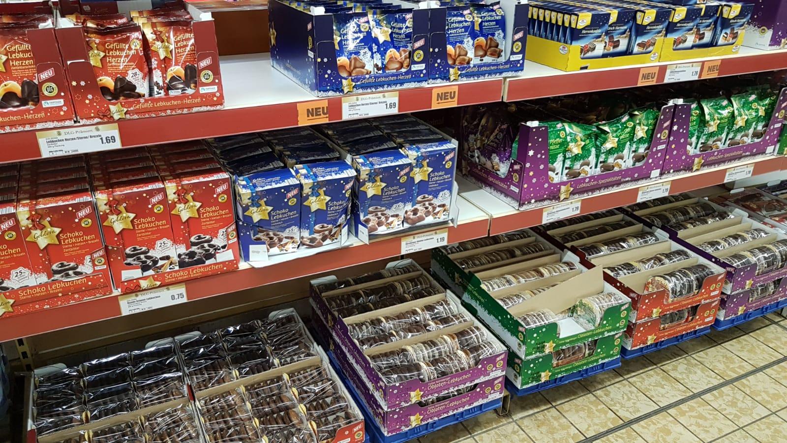 Weihnachtsgebäck Im August.Fröhliche Weihnachten Erste Supermärkte In Halle Haben