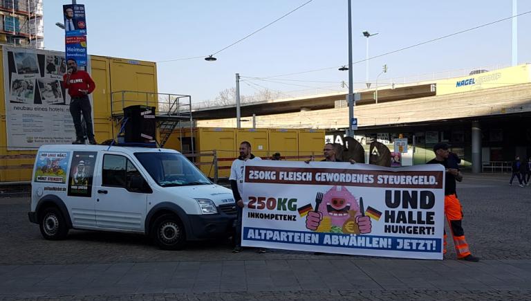 """""""Drecks Votze: Sven Liebich muss 10.000 Euro"""
