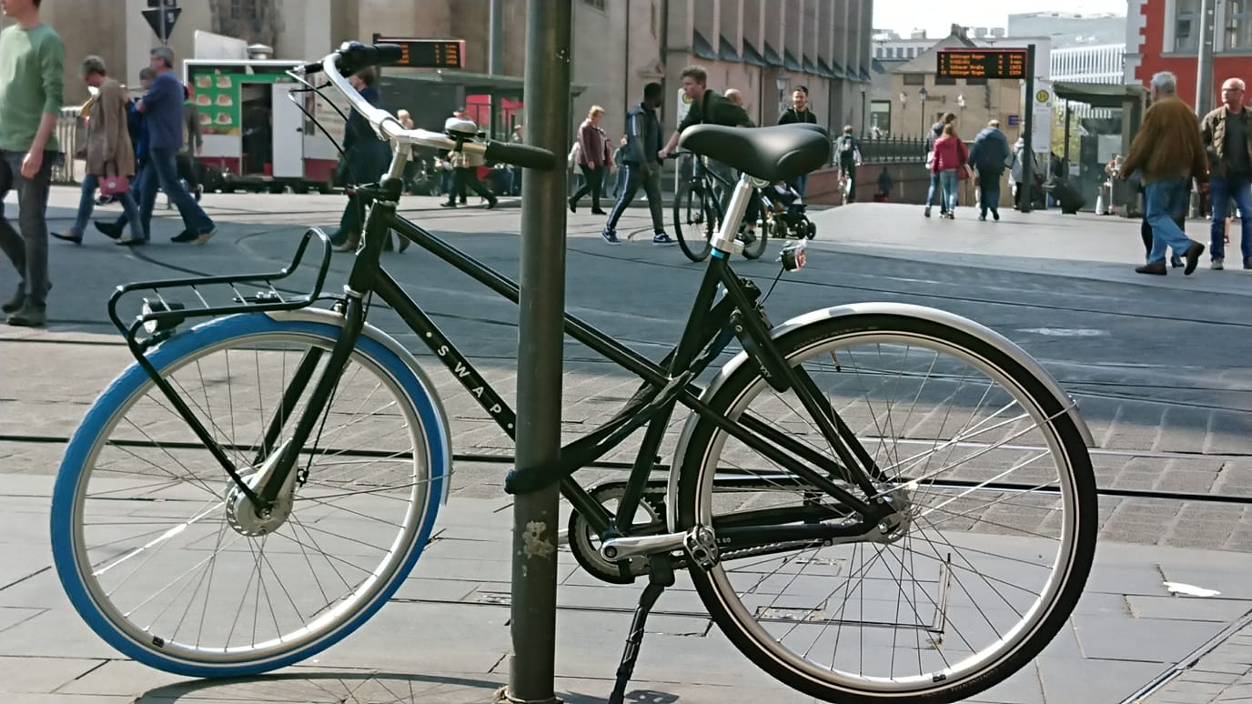 Fahrrad Mit Großen Reifen