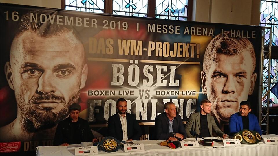 Wm Fight In Halle Dominic Bosel Gegen Sven Fornling Du Bist Halle