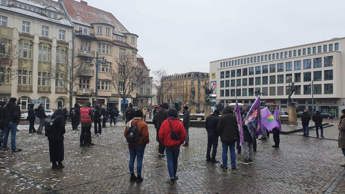 Kurden Demo Köln 2021